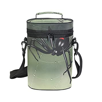 Bolsas para botellas Bolsa de vino con asa y correa ajustable para el hombro Coosun