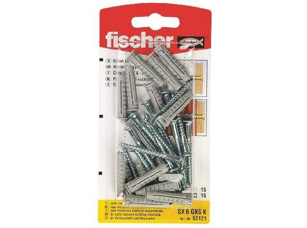Fischer-Stecca M92917 fischer sx sk nv 30 x 6