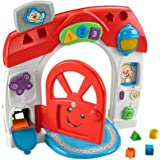 Fisher-Price Electronic Baby Toddler Toy - Laugh and Learn Smart Stages Home Playset - Electronic Music Lights