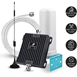Cell Phone Signal Booster for Home and Office - 65dB Dual Band 700MHz Cell Phone Repeater Boost 4G Data and Volte for AT&T