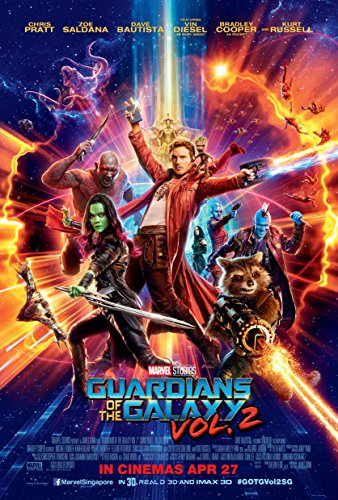 Guardians of the Galaxy Vol. 2 Movie Poster Limited Print Ph