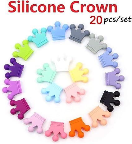 12mm Round Silicone Beads bpa free beads Teething Necklace bracelet 20pcs