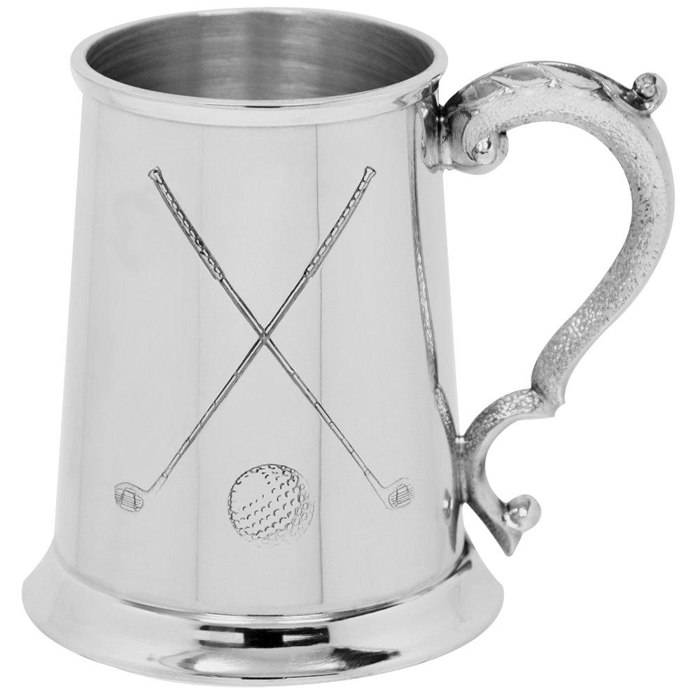 English Pewter Company 1 pinta jarra de peltre (568,26 ml ...