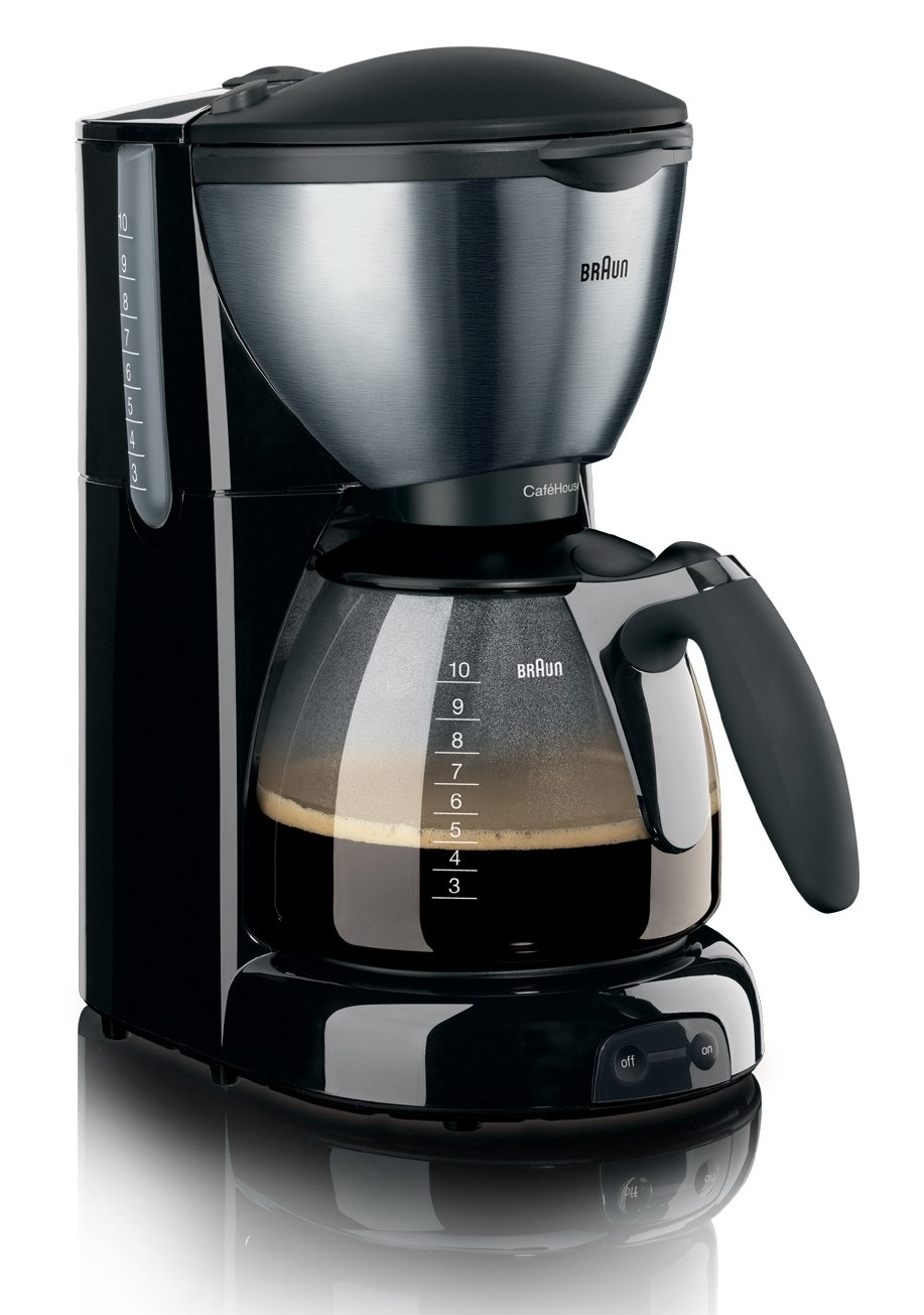 独特な店 Braun KF 570 Café House House KF Cafetière à Filtre B001R79ODE Noir B001R79ODE, 金浦町:4e92668c --- staging.aidandore.com
