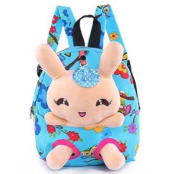 Little-Sweet Rabbit Backpack Cute Kids Toddler Backpack Plush Toy Backpack  Snack Travel Bag Pre 054ad415d61e5