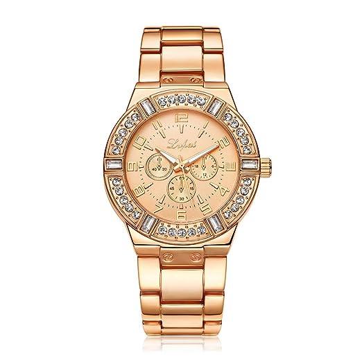 Reloj de Pulsera Demiawaking Relojes De Lujo Del Reloj De Las Mujeres Del Reloj Relojes De