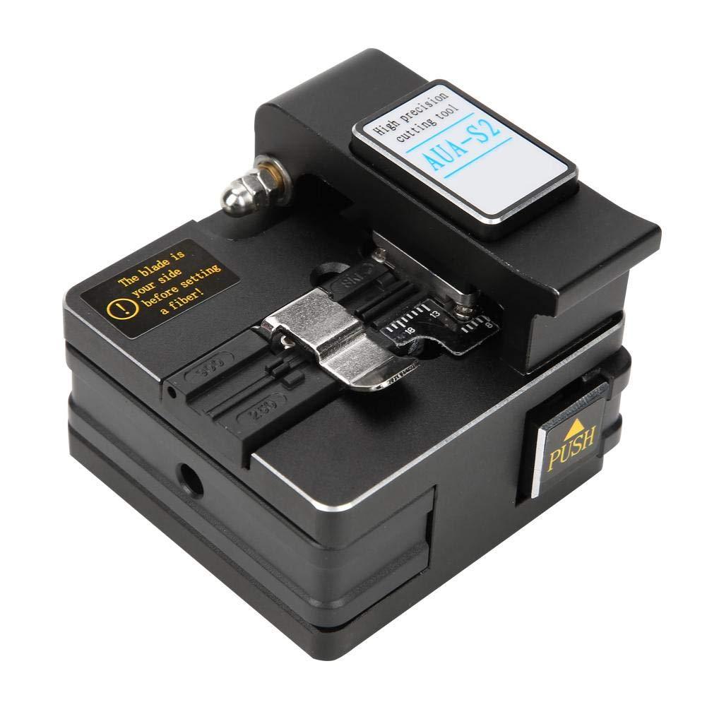Fibra Óptica Fusion Splicer, Empalmador de fibra óptica de fusión de fibra óptica de la máquina de empalme de soldadura de fibra óptica A-81S(Naranja): ...