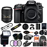 Nikon D7500 DSLR Camera With 18-140mm ED VR Lens - Includes Manufacturer Supplied Accessories (18-300mm Lens, Advanced Bundle)