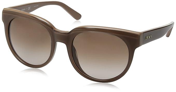 DKNY 0Dy4143, Gafas de Sol para Mujer, Marrón (Tonal Nude ...