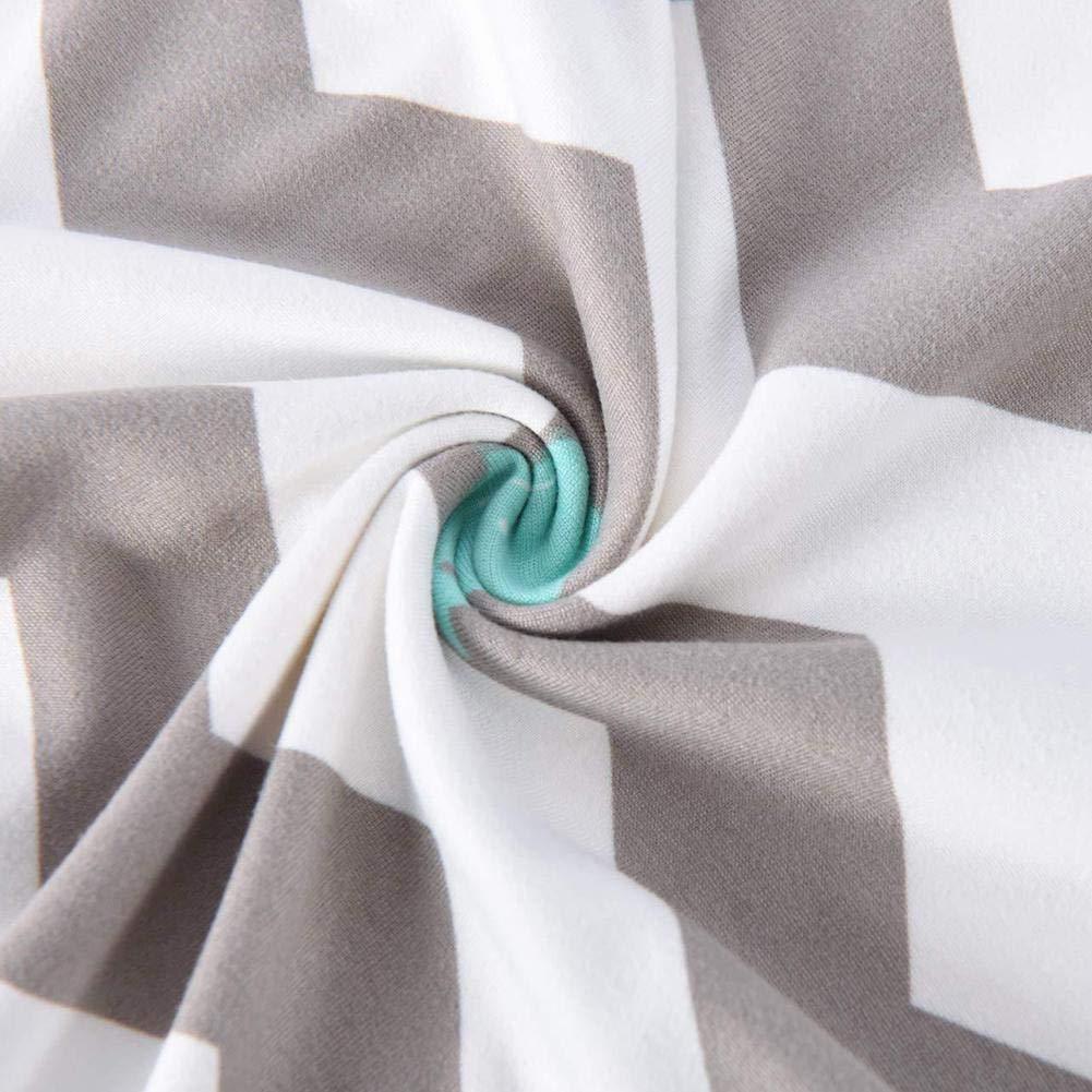 2 Pack Elastic U Shaped Breastfeeding Nursing Pillowcase Baby Feeding Pillowcase Multifunctional Removable Pillow Cover Cushion