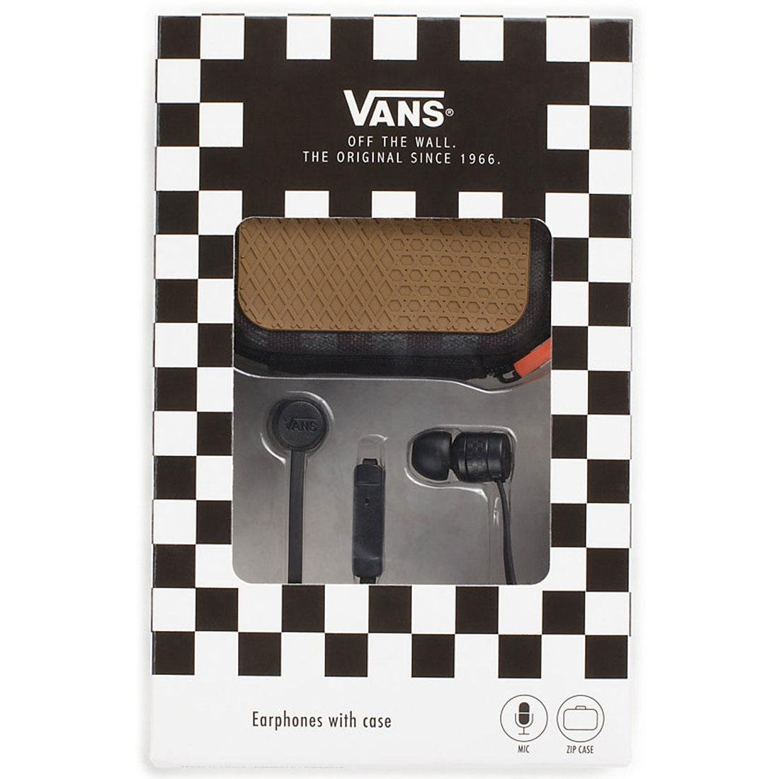 Vans shoes clothing more amazon vans ear phones with case black amipublicfo Choice Image