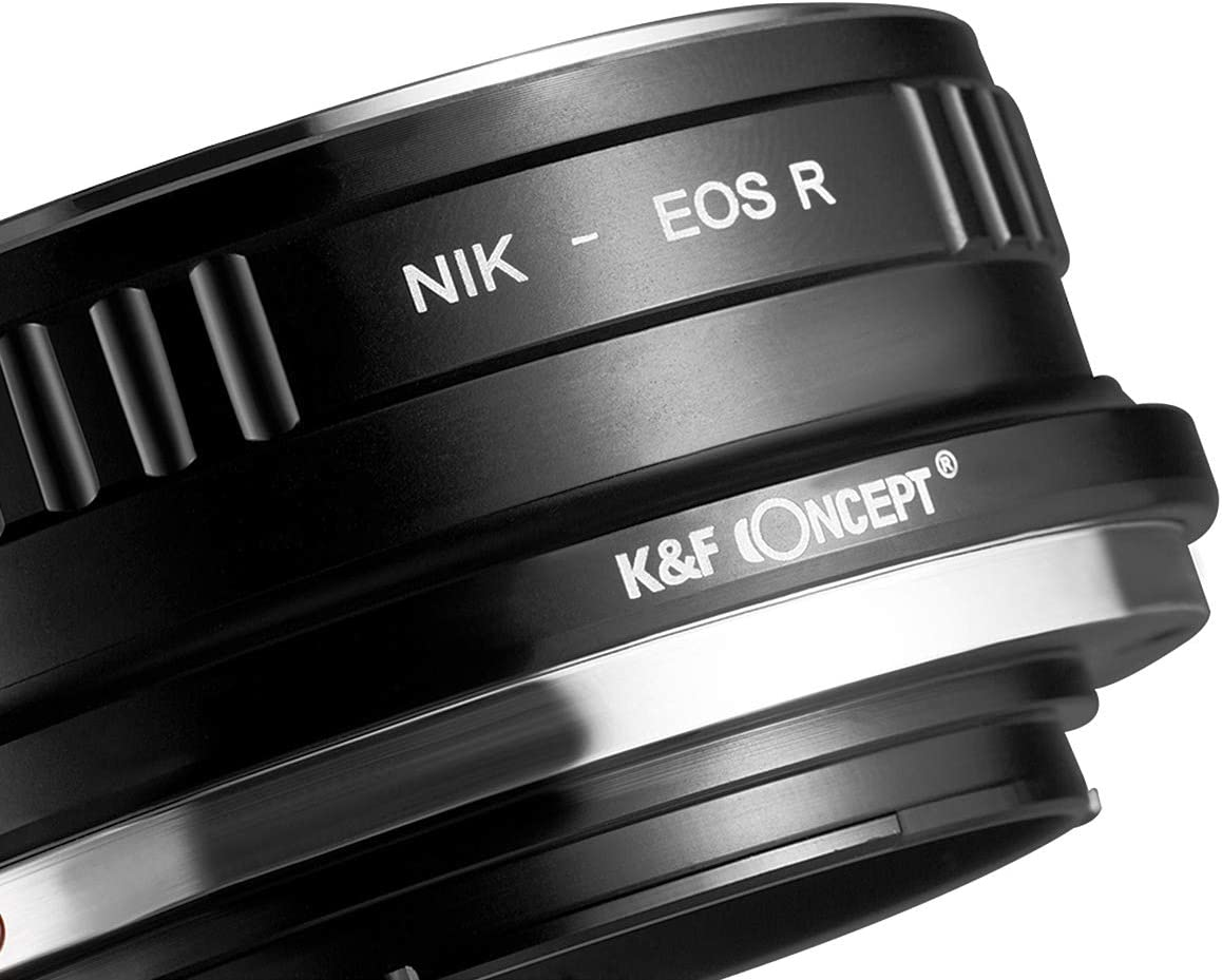 New K/&F Concept Adapter for Contax Yashica CY Mount Lens to Canon EOS RF Camera