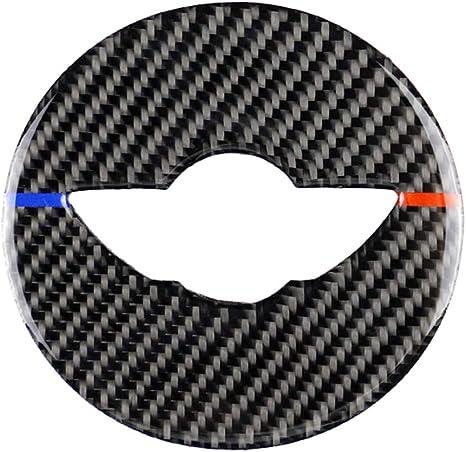 Homyl Carbon-Faser-Streifen Klimaanlage CD-Panel Dekorative Abdeckung Aufkleber f/ür BMW Mini Cooper F55 F56 F57