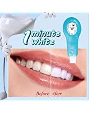 Pro Nano Teeth Whitening Kit Nano Cleaning Brush Tooth Stains Remover Teeth Cleaning Strips for Oral Cleaning(1 Handles + 4 Strips)