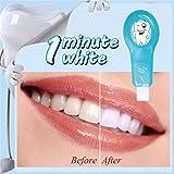 Pro Nano Kit de blanqueamiento dental, Sistema de blanqueador de dientes natural nano Herramienta de limpieza del blanqueador de dientes Cepillo de dientes para el cuidado bucal Limpieza profunda