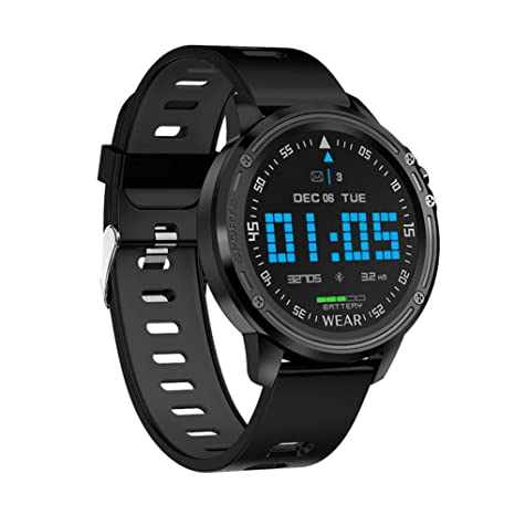 Amazon.com: L8 Smart Watch Men IP68 Waterproof Reloj Hombre ...