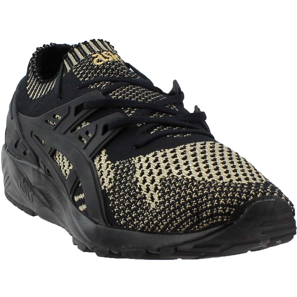 Image of ASICS Mens Gel-Kayano Trainer Knit Casual Athletic & Sneakers Black Fitness & Cross-Training