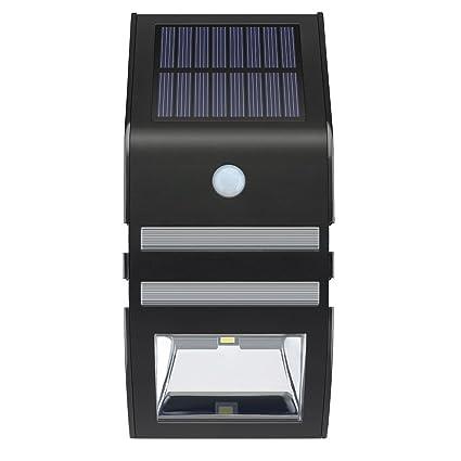 VicTsing - Lámpara solara LED, sensor de movimiento automático