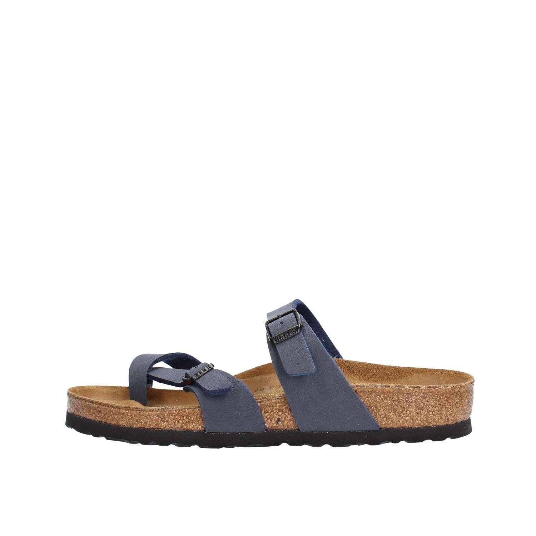 Birkenstock MAYARI BF GRACEFUL 71611 - Sandalias de vestir para mujer 41 EU|Azul