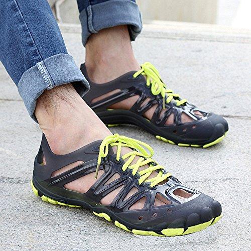 Ein weiterer Sommer Herren Lace Up Walking Schuhe Casual Wasser Schuhe Grün