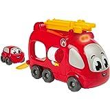 Smoby - 120206 - Vroom Planet - Camion Pompier Électronique + 1 Mb