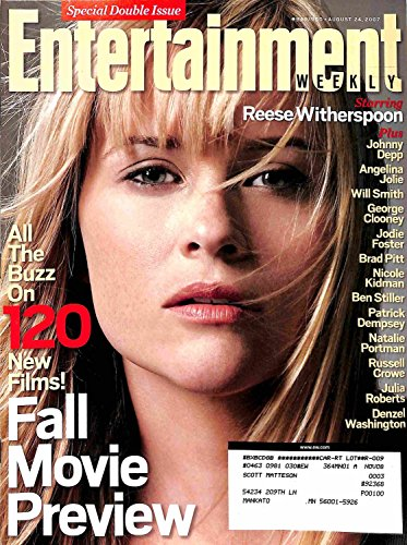Entertainment Weekly August 24 2007 - Reese Witherspoon, 120 New Films Fall Movie Preview (#949/950)