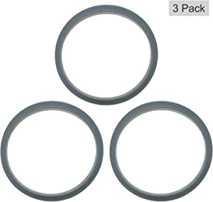 Replacement Parts Seal Ring Gaskets with Lip Gasket Compatible with NutriBullet 600/900W Series (3)