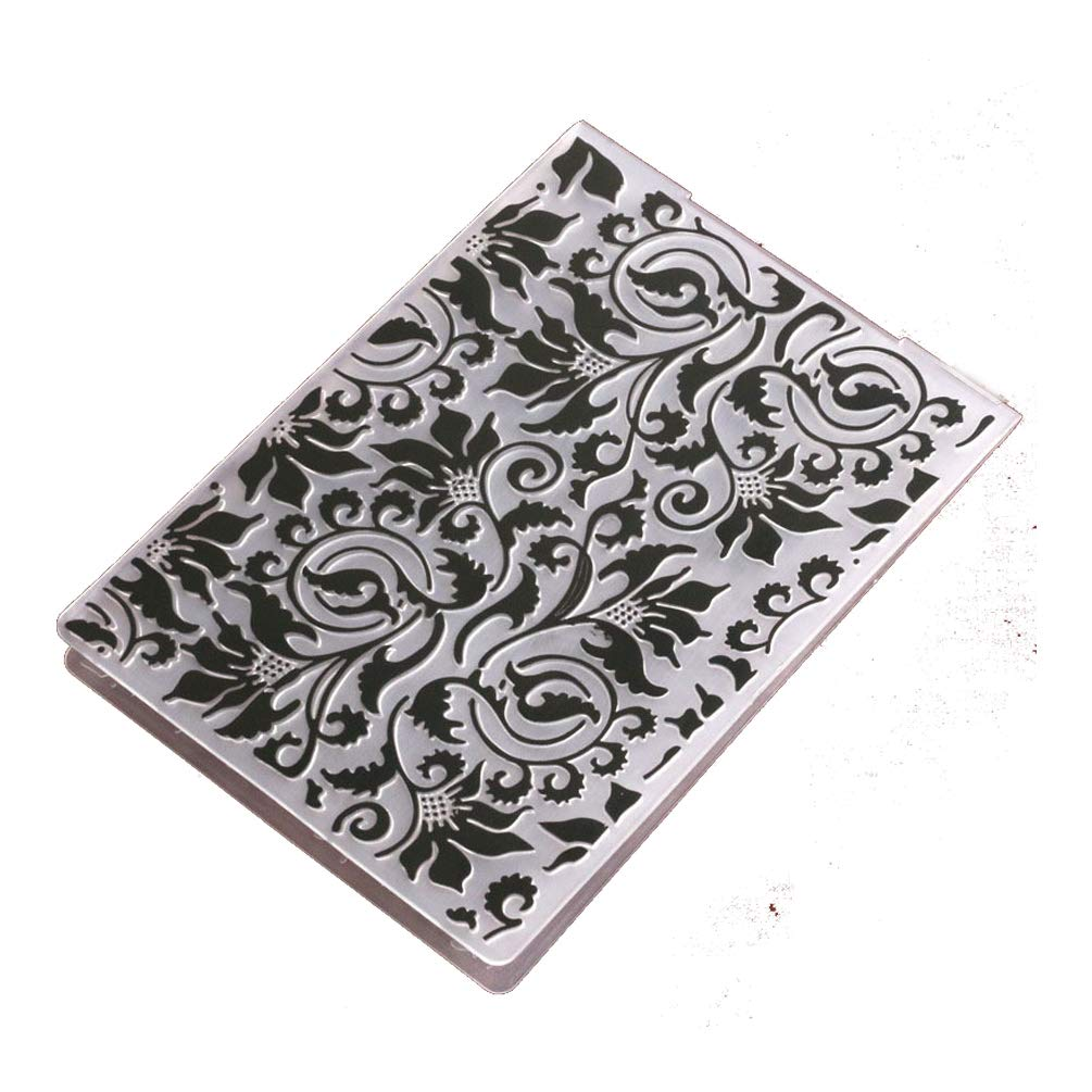 DIY Plastic Embossing Folders for Card Making Butterfly Star Polk Dot Scrapbooking and Other Paper Crafts