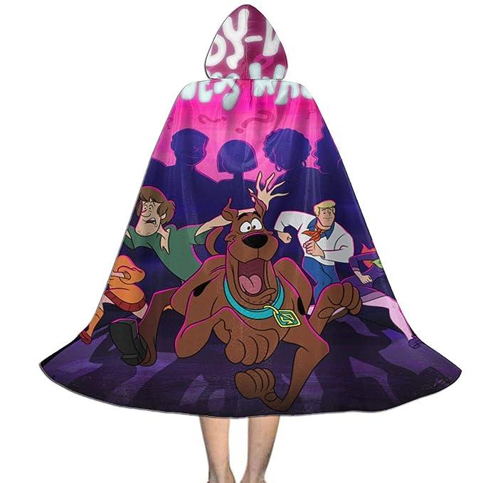 Amazon.com: Scooby Doo - Capa con capucha para disfraz de ...