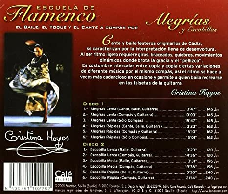 Escuela De Flamenco -Alegrias.......: Various Artists: Amazon.es ...