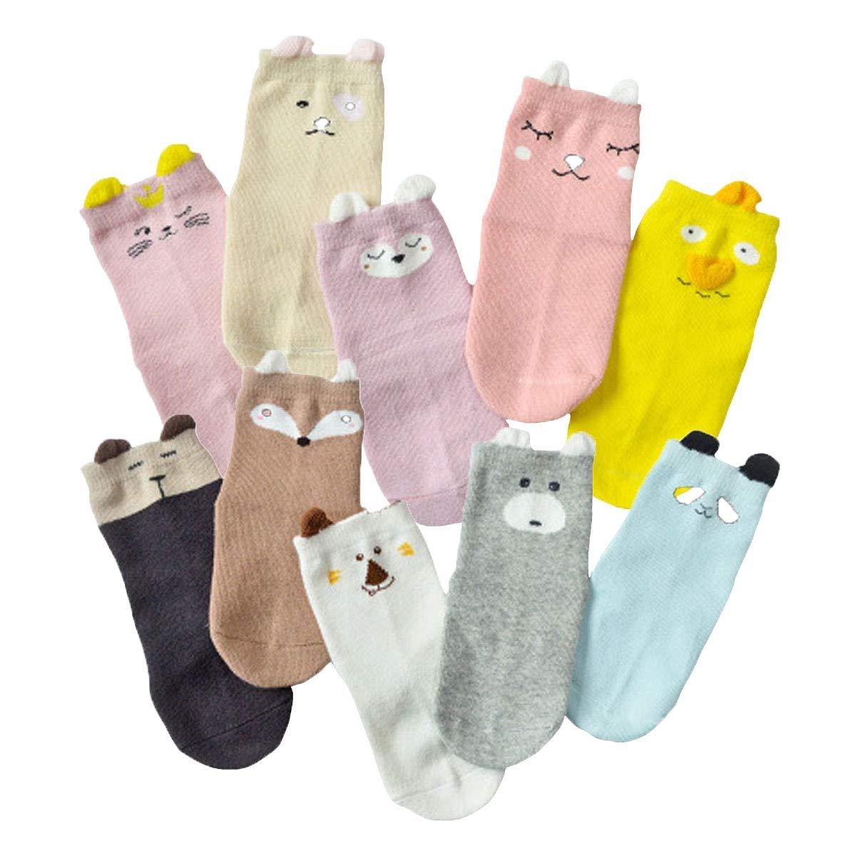 BoXianer Baby Sock Infant Toddler Boy Girl Newborn Cotton Kids Socks 0-4 Years