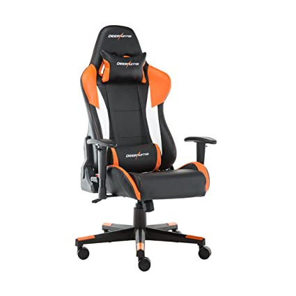 DEERHUNTER Gaming Chair, Swivel Leather Office Chair, Racing Style High  Back Ergonomic Chair,