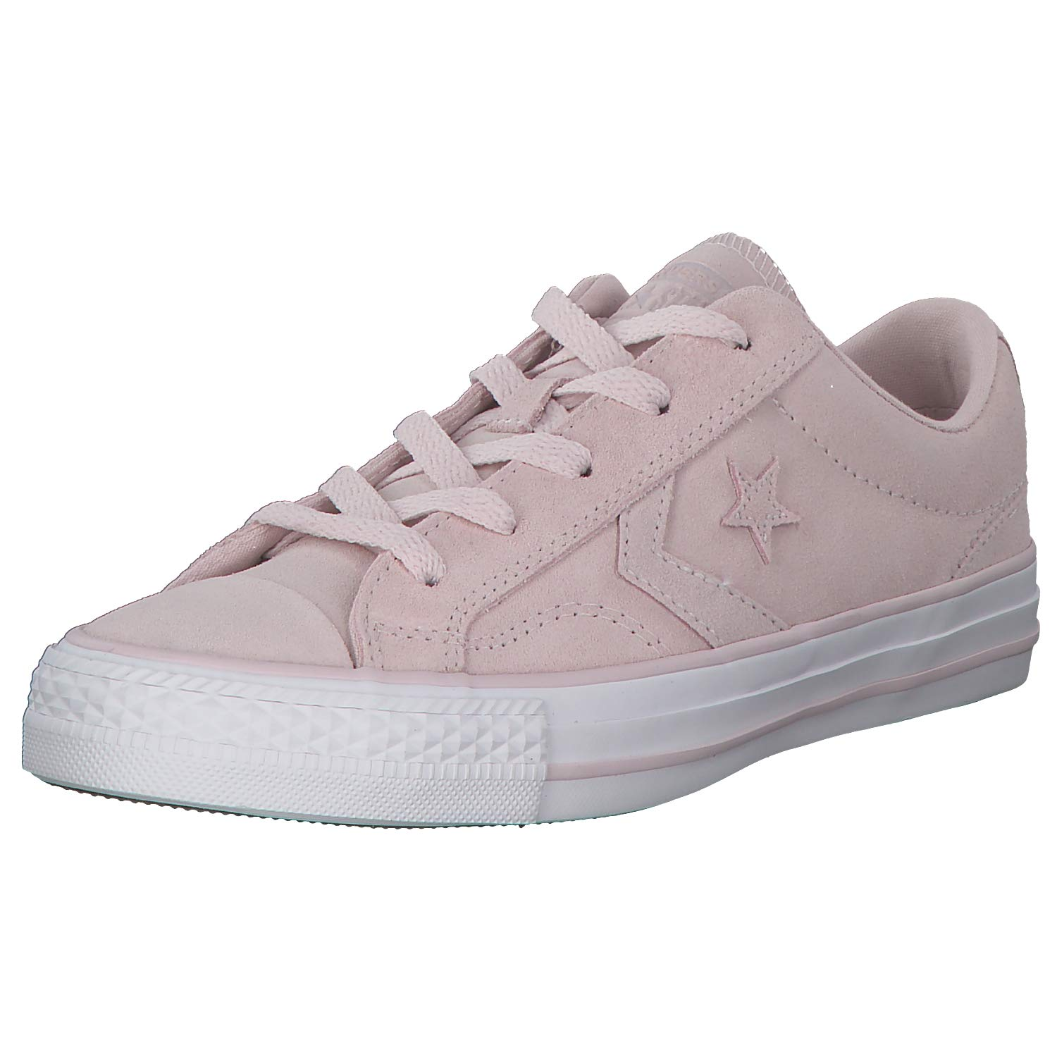 Rose (Barely Rose Barely Rose blanc 653) Converse Star Player Ox, Chaussures de Fitness Mixte Enfant 37 EU