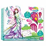Style Me Up! Splash Fairy Fantasy Deluxe Coloring Kit Kids Art Craft