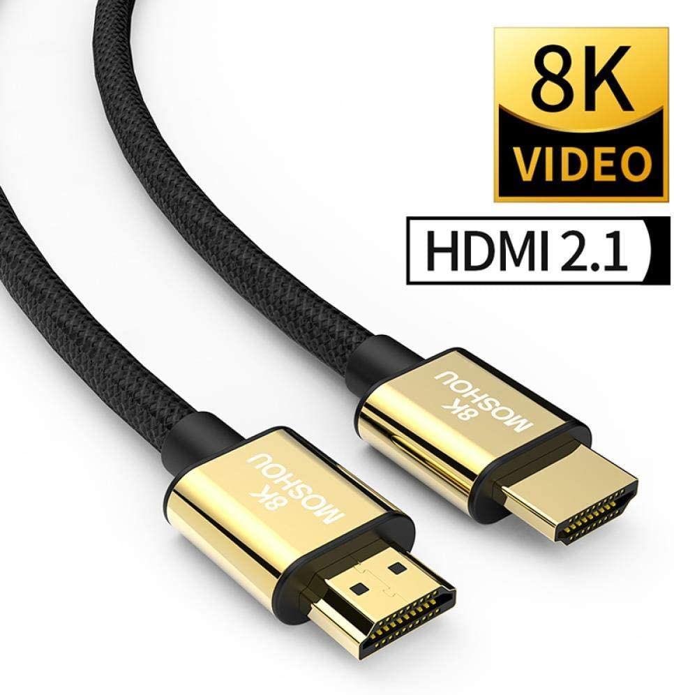 Hdmi 2 1 Cable 8k 60hz 4k 120hz 48gbps Bandwidth Arc Elektronik