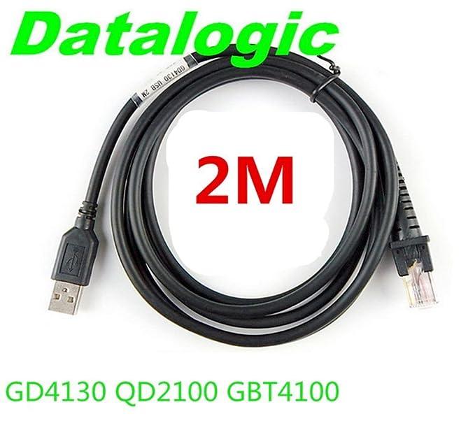 Marca Nuevo- USB a RJ45 macho Cable para Datalogic GD4130 qd2100 ...