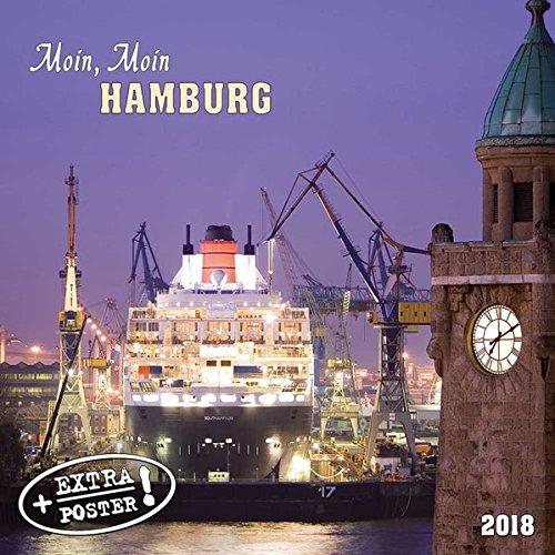 Hamburg 2018: Kalender 2018 (Artwork Cities)