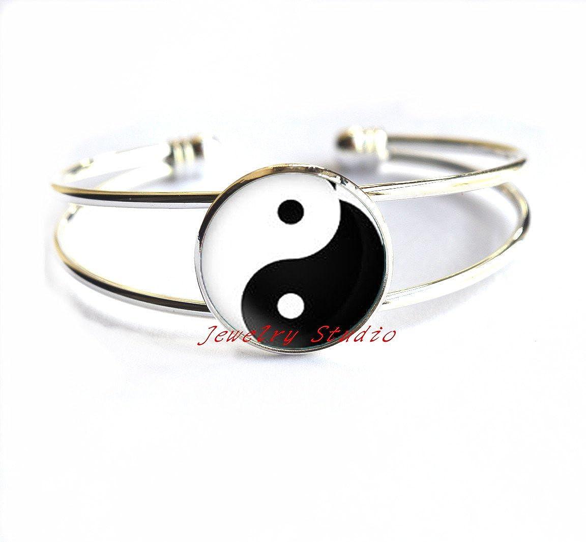 Yin Yang jewellery Bracelet Everyday jewelry Lunar jewellery Gift for daughter Yin Yang Bracelet Zen Bracelet-HZ00264
