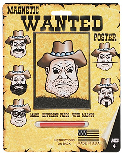 Magnetic Personalities - Wanted Poster