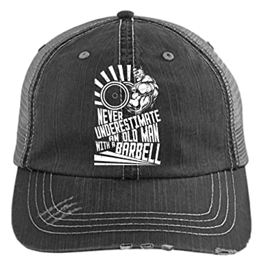 with A Barbell Hat fdb167cd7fc1