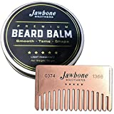 Energizing Citrus Beard Balm + Stainless Steel Beard Comb