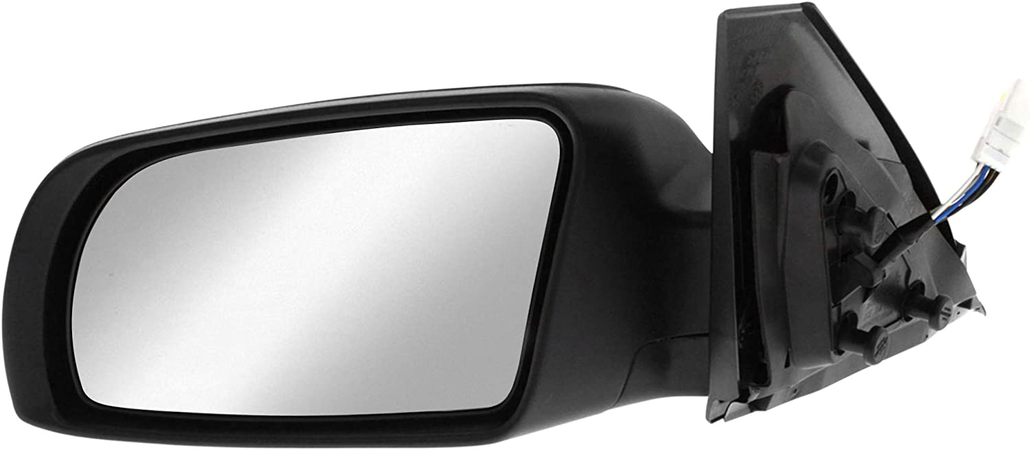 Non Heated Silver Door Mirror Glass Including Base Plate LH Passenger Side MA3 2003 to 2008 Ball type fitting