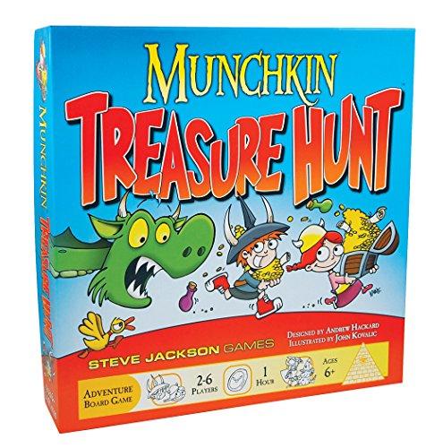 Steve Jackson Games Munchkin Treasure Hunt Card -