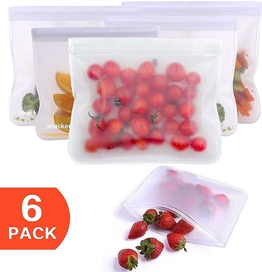 Bolsas de almacenamiento reutilizables para alimentos ...
