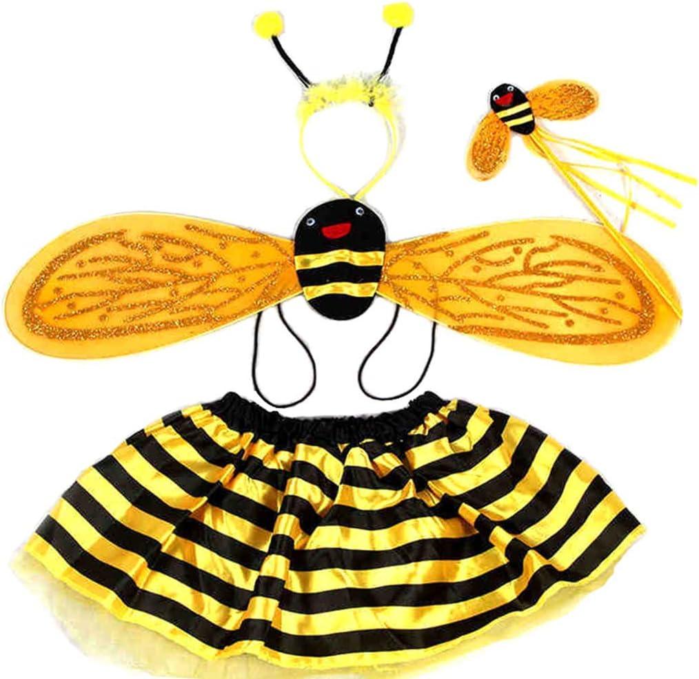 Schimer Disfraz de Abeja para niña, Disfraz de Princesa, Vestido ...