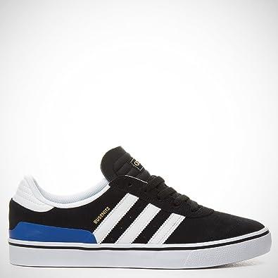 great fit fcc7b 5d396 Adidas Busenitz Vulc Shoes Core Black White Royal Blue UK 12