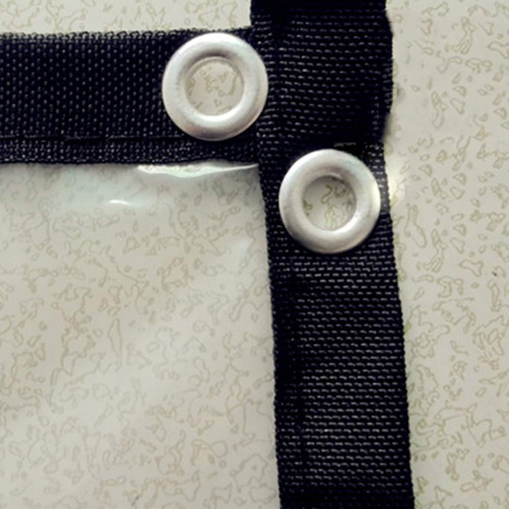 Polietilene pi/ù Dimensioni Telone Occhielli Impermeabile Copertura Telone Telo Copertura Trasparente Pianta Orticola Protezione Domestico A Prova di Vento Resistente al Freddo