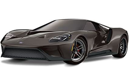 Amazon Com Traxxas Wd Ford Gt Vehicle With Tq  Ghz Radio System Liquid Grey Toys Games