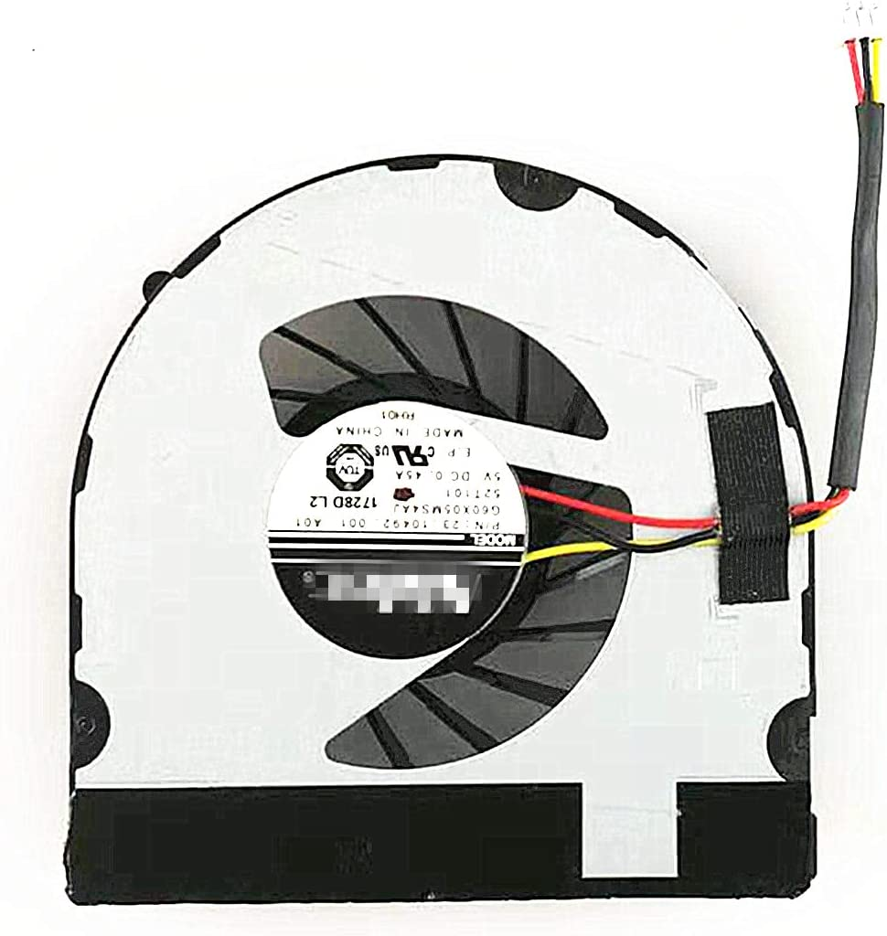 QUETTERLEE Replacement New CPU Fan for Dell Inspiron M4040 M5040 N4050 N5040 N5050 V1450 3420 2420 G60X05MS4AJ 52T101 DFS481305MC0T Fan