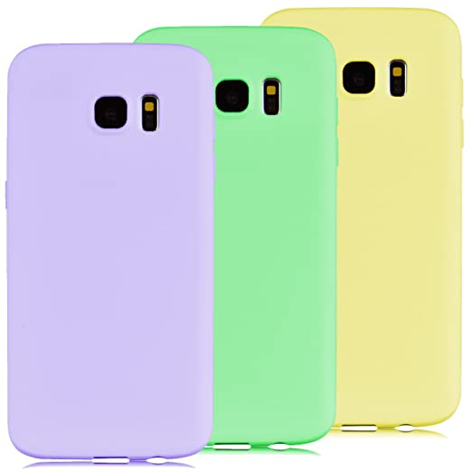 28 opinioni per 3x Custodia Samsung Galaxy S7 Edge, Yokata Gel Silicone TPU Morbido Cover
